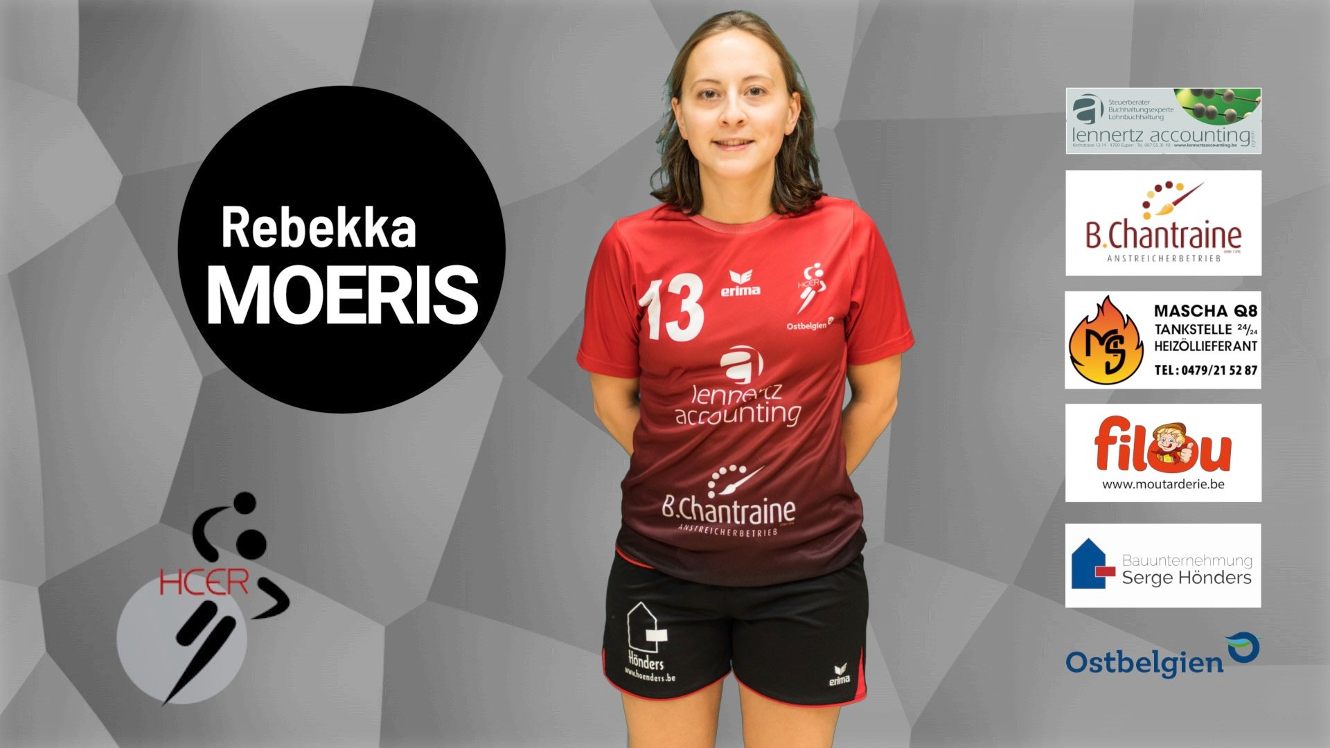 #13 Rebekka Moeris