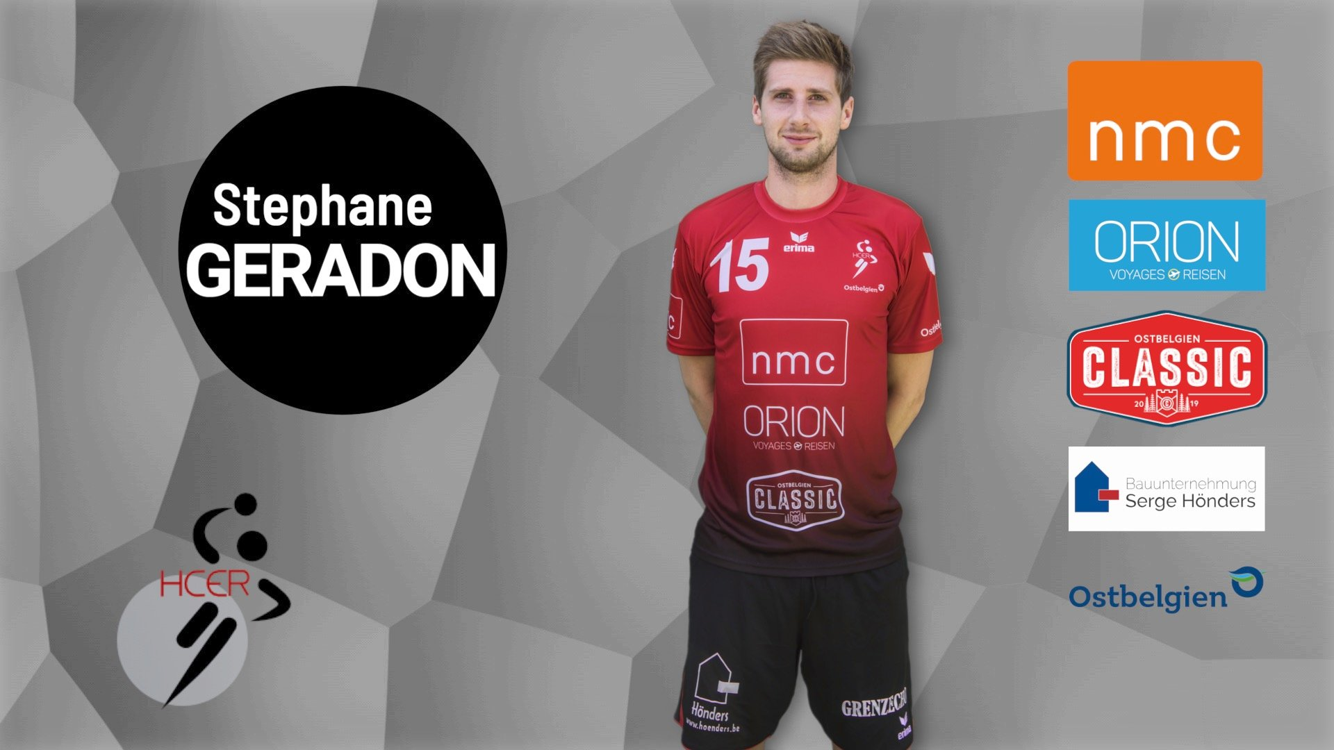 #15 Stephane Geradon
